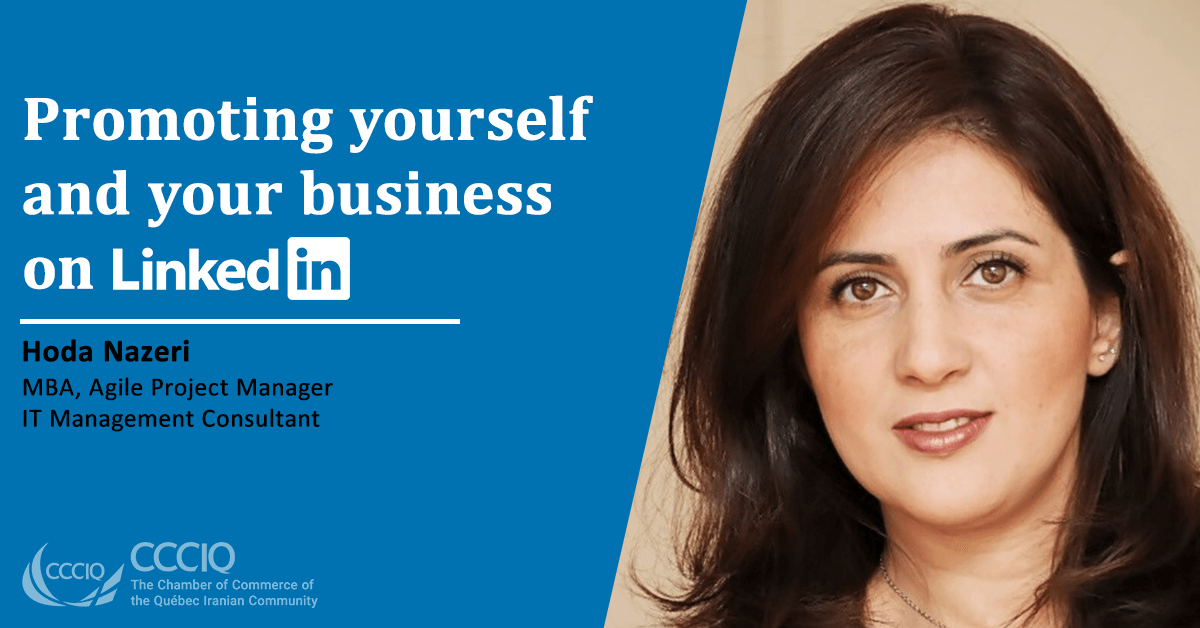 Promoting yourself and your business on LinkedIn